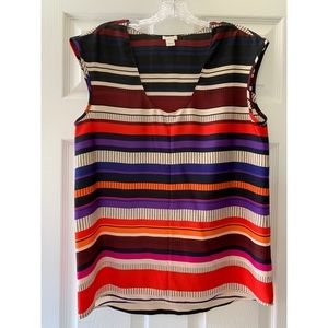J. Crew striped blouse - Size 8